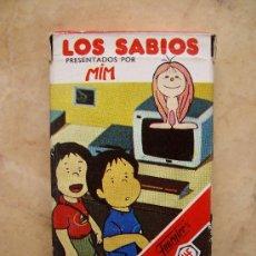 Barajas de cartas: BARAJAS INFANTILES HERACLIO FOURNIER - LOS SABIOS -. Lote 32038304