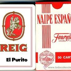 Barajas de cartas: NAIPES FOURNIER – REIG EL PURITO. Lote 32182418