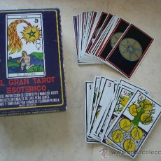 Barajas de cartas: 58 CARTAS DE BARAJA ESOTERICA Y SU CAJA. Lote 147419902