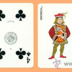 Barajas de cartas: BARAJA DE CARTAS DE POKER TOURISM 202. H. FOURNIER. PATIENCE. NAIPES. PLAYING CARDS.. Lote 32290049