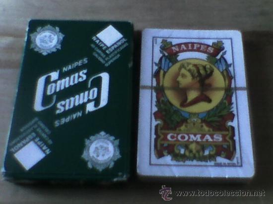 BARAJA NAIPES COMAS 40 CARTAS PUBLICIDAD CAJA MADRID PRECINTADA (Juguetes y Juegos - Cartas y Naipes - Baraja Española)