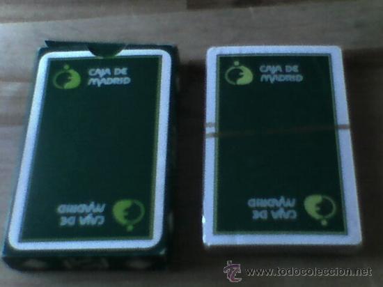 Barajas de cartas: Baraja naipes Comas 40 cartas publicidad Caja Madrid precintada - Foto 2 - 32345838