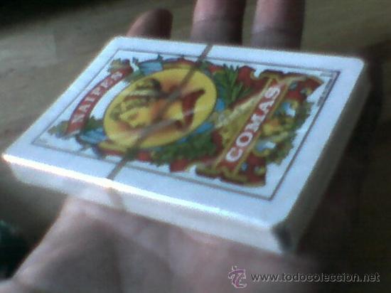 Barajas de cartas: Baraja naipes Comas 40 cartas publicidad Caja Madrid precintada - Foto 6 - 32345838