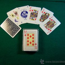 Barajas de cartas: MINI BARAJA DE CARTAS DE POKER. Lote 140291178