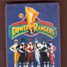 Barajas de cartas: POWER RANGERS DE TM SABAN 1995 BARAJA NAIPES JUEGO DE CARTAS DE FOURNIER PRECINTADA. Lote 53512358