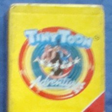 Barajas de cartas: TINY TOON WARNER BROS 1991 BARAJA INFANTIL PRECINTADA JUEGO DE CARTAS DE FOURNIER. Lote 32354203