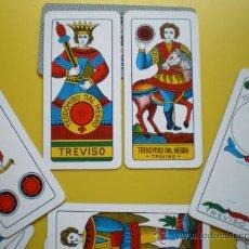Barajas de cartas: BARAJA CLÁSICA ITALIANA. DAL NEGRO. 52 NAIPES DE MEDIDA ESPECIAL. Lote 32439388
