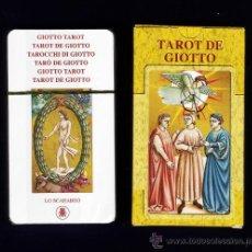 Barajas de cartas: BARAJA / NAIPES - TAROT DE GIOTTO - 78 CARTAS - LO SCARABEO/ ITALIA - EN CAJA - PRECINTADAS. Lote 114374263