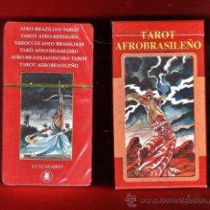 Barajas de cartas: BARAJA / NAIPES - TAROT AFROBRASILEÑO - 78 CARTAS - LO SCARABEO/ ITALIA - EN CAJA - PRECINTADAS. Lote 32476317