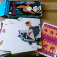 Barajas de cartas: BARAJA PUZZLE PUZLE H FOURNIER POCAHONTAS DISNEY 33 CARTAS. Lote 32648356