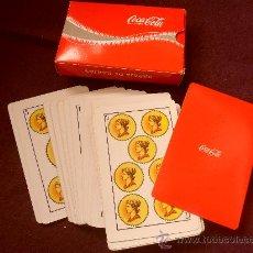 Barajas de cartas: COCA-COLA. BARAJA ESPAÑOLA DE 50 CARTAS. NO ES DE FOURNIER.. Lote 32668452