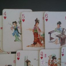 Barajas de cartas: BARAJAS DE CARTAS POKER CHINA. Lote 32968532
