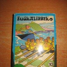 Barajas de cartas: BARAJA EUSKALERRIKO KIROLAK BARAJA DE DEPORTES VASCOS EDITADA EN VASCO 1973 FALTAN 2 CARTAS. Lote 32988516