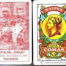 Barajas de cartas: FESTA DEL JOGUET FIGUERES - BARAJA ESPAÑOLA 50 CARTAS. Lote 33107775