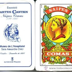 Barajas de cartas: CARTES CANTEN MUSEU L'HOSPITALET - BARAJA ESPAÑOLA 50 CARTAS. Lote 33107835