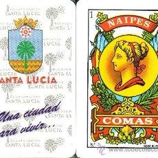 Barajas de cartas: AYUNTAMIENTO SANTA LUCIA - BARAJA ESPAÑOLA 40 CARTAS. Lote 33107932