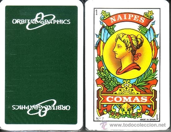 ORBITAL GRAPHICS - BARAJA ESPAÑOLA 40 CARTAS (Juguetes y Juegos - Cartas y Naipes - Baraja Española)