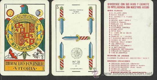 BARAJA COMPLETA ANTIGUA - 48 CARTAS +2 COMODINES +CARTA ADIC. -VER FOTOS ADIC.- (CR-110) (Juguetes y Juegos - Cartas y Naipes - Baraja Española)