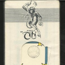 Barajas de cartas: BARAJA COMPLETA ANTIGUA - TITI SIN ABRIR - -(CR-112). Lote 33189537