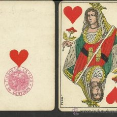 Barajas de cartas: BARAJA COMPLETA ANTIGUA FRANCESA 52 CARTAS - GRIMAUD - PARIS -VER FOTOS ADIC.- (CR-116). Lote 33190043