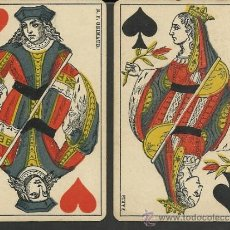 Barajas de cartas: BARAJA COMPLETA ANTIGUA FRANCESA 52 CARTAS - GRIMAUD - PARIS -VER FOTOS ADIC.- (CR-118). Lote 33190299