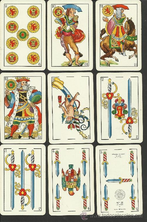 Barajas de cartas: BARAJA COMPLETA ANTIGUA - 48 CARTAS +2 COMODINES +CARTA ADIC. -VER FOTOS ADIC.- (CR-110) - Foto 3 - 33189304