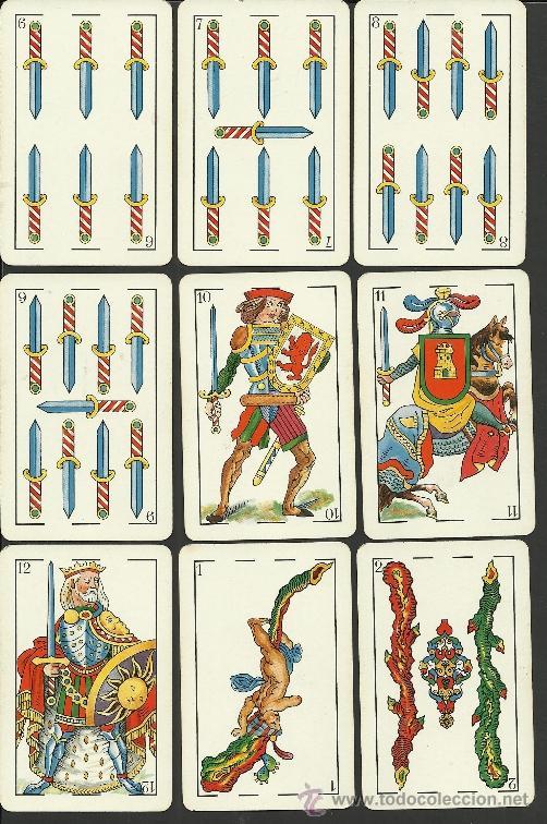 Barajas de cartas: BARAJA COMPLETA ANTIGUA - 48 CARTAS +2 COMODINES +CARTA ADIC. -VER FOTOS ADIC.- (CR-110) - Foto 4 - 33189304