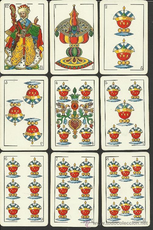 Barajas de cartas: BARAJA COMPLETA ANTIGUA - 48 CARTAS +2 COMODINES +CARTA ADIC. -VER FOTOS ADIC.- (CR-110) - Foto 6 - 33189304