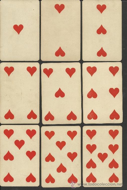 Barajas de cartas: BARAJA COMPLETA ANTIGUA FRANCESA 52 CARTAS - GRIMAUD - PARIS -VER FOTOS ADIC.- (CR-118) - Foto 2 - 33190299