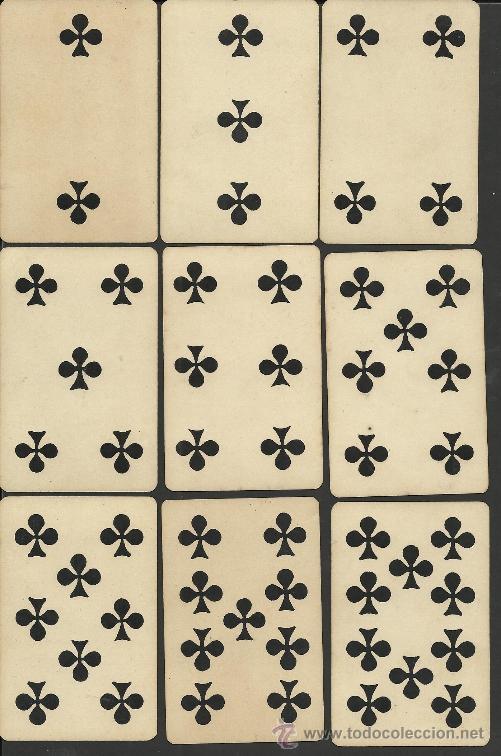 Barajas de cartas: BARAJA COMPLETA ANTIGUA FRANCESA 52 CARTAS - GRIMAUD - PARIS -VER FOTOS ADIC.- (CR-118) - Foto 5 - 33190299