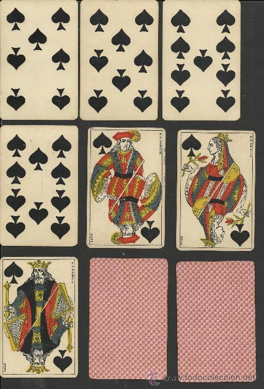 Barajas de cartas: BARAJA COMPLETA ANTIGUA FRANCESA 52 CARTAS - GRIMAUD - PARIS -VER FOTOS ADIC.- (CR-118) - Foto 7 - 33190299