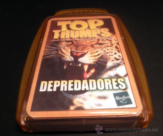 Barajas de cartas: BARAJA DE CARTAS * TOP TRUMPS DEPREDADORES * HASBRO * COMPLETO - Foto 5 - 33252470