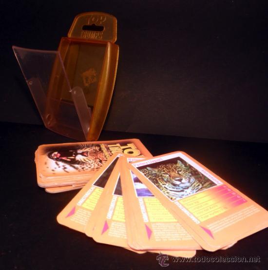 Barajas de cartas: BARAJA DE CARTAS * TOP TRUMPS DEPREDADORES * HASBRO * COMPLETO - Foto 4 - 33252470