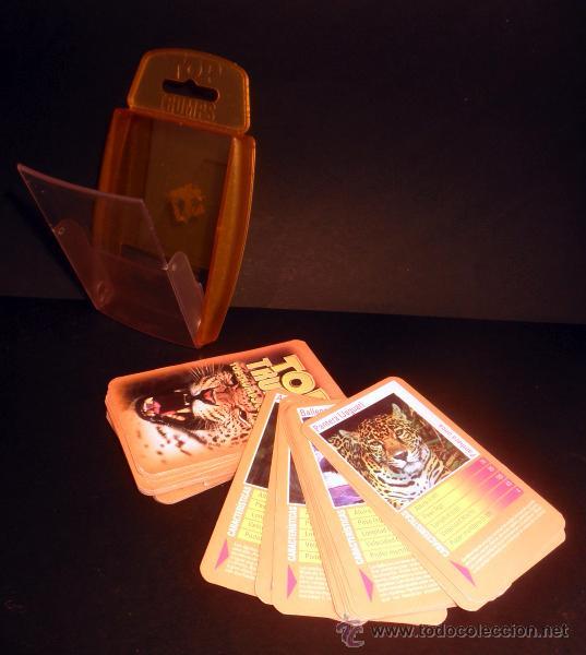 Barajas de cartas: BARAJA DE CARTAS * TOP TRUMPS DEPREDADORES * HASBRO * COMPLETO - Foto 3 - 33252470