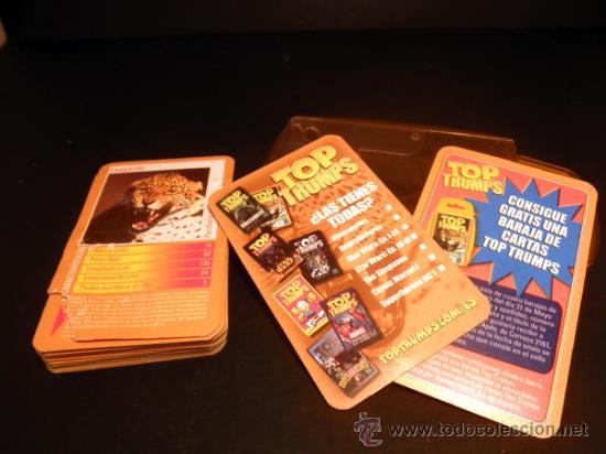 Barajas de cartas: BARAJA DE CARTAS * TOP TRUMPS DEPREDADORES * HASBRO * COMPLETO - Foto 2 - 33252470