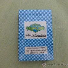 Barajas de cartas: BARAJA DE POKER DEL CASINO HOTEL TROPICANA -LAS VEGAS **SIN USO**. Lote 58280792