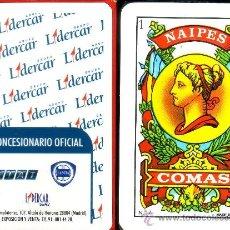 Barajas de cartas: LIDERCAR - BARAJA ESPAÑOLA 40 CARTAS. Lote 33328923