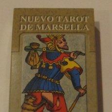 Barajas de cartas: NUEVO TAROT DE MARSELLA LO SCARABEO PRECINTADO. Lote 33430575