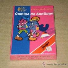 Barajas de cartas: JUEGO DE NAIPES INFANTILES , CAMIÑO DE SANTIAGO ( CAMINO DE AMISTAD ) FOURNIER , AÑO 1993 . NUEVA. Lote 200288292