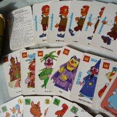 Barajas de cartas: BARAJA NAIPES / JUEGO 40 CARTAS *EL JUEGO DE JUAN SIN MIEDO* EDICIONES RECREATIVAS. ORIGINAL 1979.. Lote 33483668