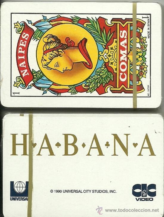 HABANA - BARAJA ESPAÑOLA 40 CARTAS (Juguetes y Juegos - Cartas y Naipes - Otras Barajas)