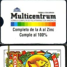 Barajas de cartas: MULTICENTRUM - BARAJA ESPAÑOLA 40 CARTAS. Lote 33484742