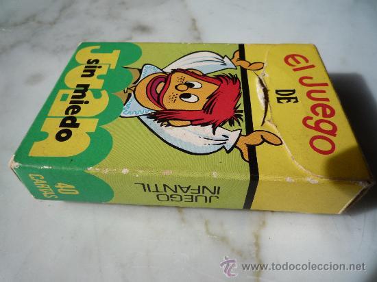 Barajas de cartas: Baraja naipes / Juego 40 cartas *EL JUEGO DE JUAN SIN MIEDO* Ediciones Recreativas. Original 1979. - Foto 8 - 33483668