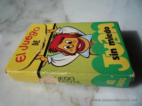 Barajas de cartas: Baraja naipes / Juego 40 cartas *EL JUEGO DE JUAN SIN MIEDO* Ediciones Recreativas. Original 1979. - Foto 9 - 33483668