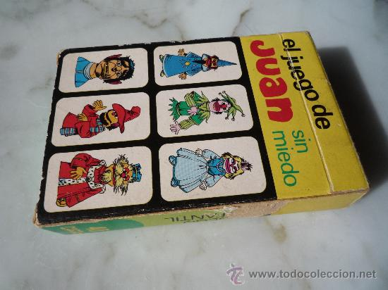 Barajas de cartas: Baraja naipes / Juego 40 cartas *EL JUEGO DE JUAN SIN MIEDO* Ediciones Recreativas. Original 1979. - Foto 10 - 33483668