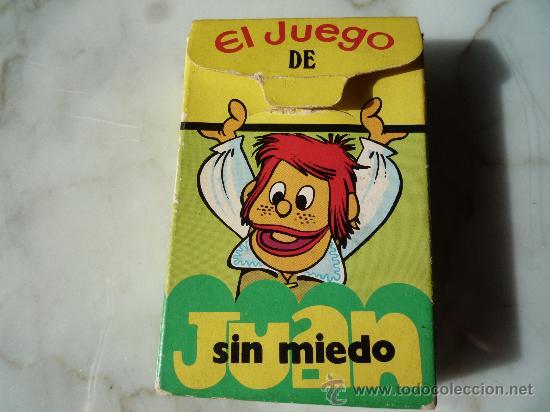 Barajas de cartas: Baraja naipes / Juego 40 cartas *EL JUEGO DE JUAN SIN MIEDO* Ediciones Recreativas. Original 1979. - Foto 11 - 33483668