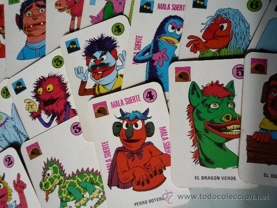 Barajas de cartas: Baraja naipes / Juego 40 cartas *EL JUEGO DE JUAN SIN MIEDO* Ediciones Recreativas. Original 1979. - Foto 4 - 33483668