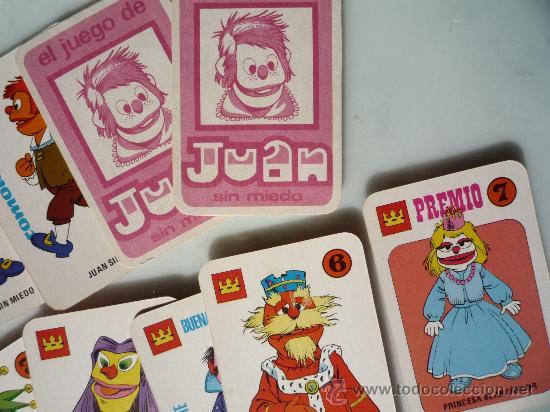 Barajas de cartas: Baraja naipes / Juego 40 cartas *EL JUEGO DE JUAN SIN MIEDO* Ediciones Recreativas. Original 1979. - Foto 5 - 33483668