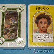 Jeux de cartes: 2 BARAJAS INFANTILES, EL SEÑOR DE LOS ANILLOS. PRECINTADAS. . Lote 33597633