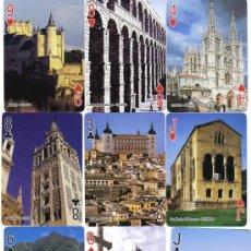 Barajas de cartas: BARAJA ESPAÑA PATRIMONIO DE LA HUMANIDAD-FOURNIER-AÑO 2006. Lote 33649565